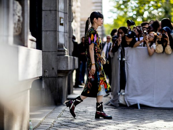 Street styles Paris fashion week