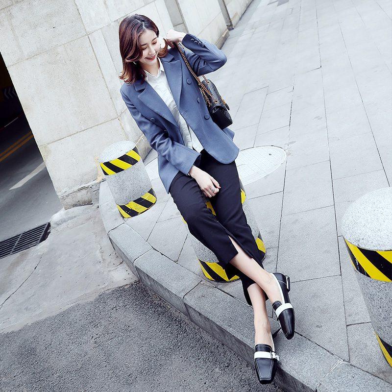 Chiko Blaze Strap Loafers Flats