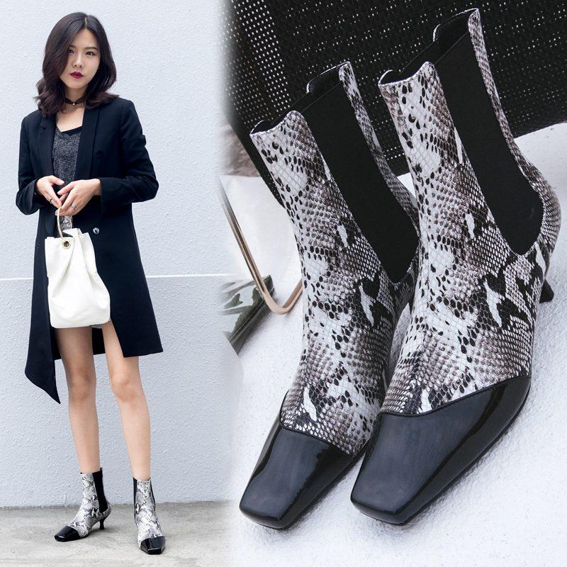 Chiko Bolton Kitten Heel Chelsea Boots