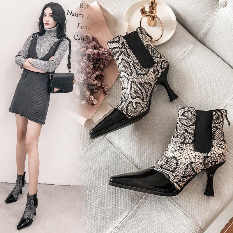 6d5f3a61e779 Animal print women shoes trend for fall winter 2018 is going viral