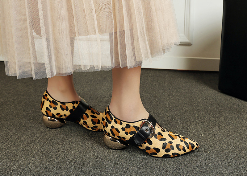 8611bab08ffe Animal print shoes are in full swing this fall for a wild touch