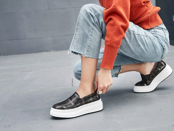 plaid shoes fall 2018