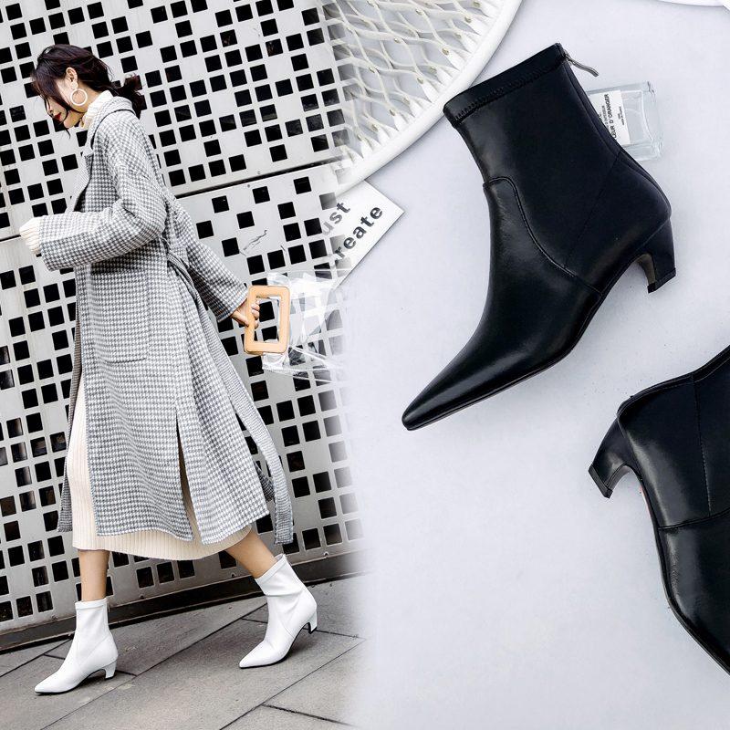 Chiko Brenner Kitten Heel Ankle Boots