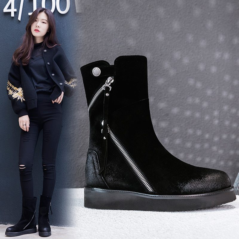 Chiko Brent Zipper Ankle Boots