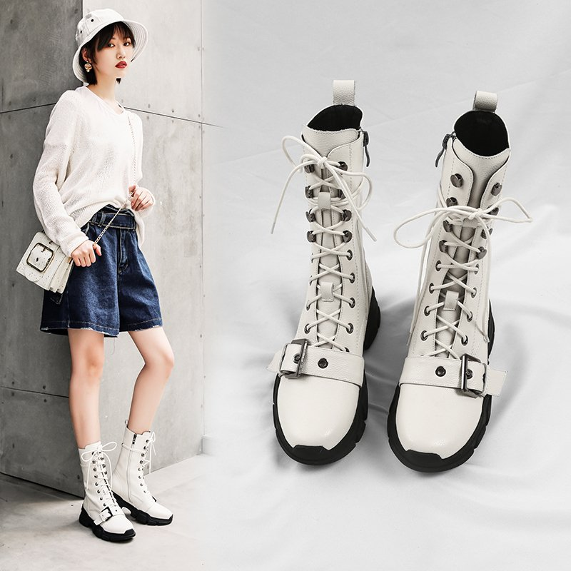 Chiko Brice Combat Sneaker Ankle Boots