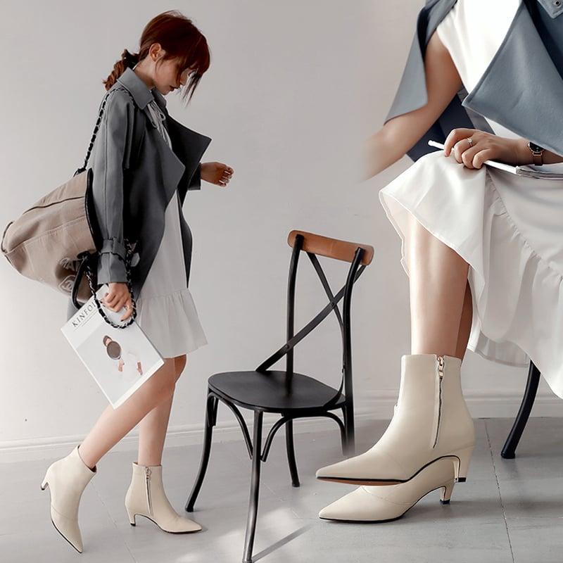 Chiko Brillana Kitten Heel Ankle Boots
