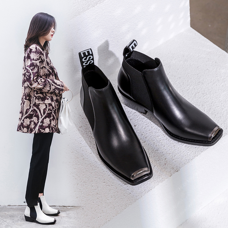 Chiko Britteny Western Chelsea Ankle Boots