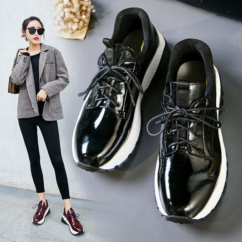 Chiko Brittnay Metallic Flatform Dad Sneakers
