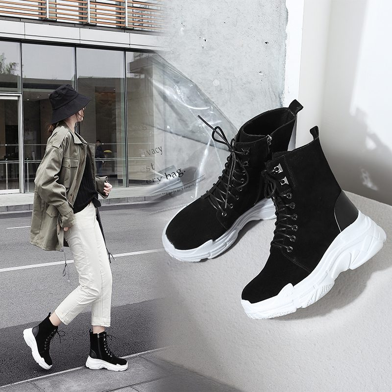 Chiko Bryttani Sneaker Combat Ankle Boots