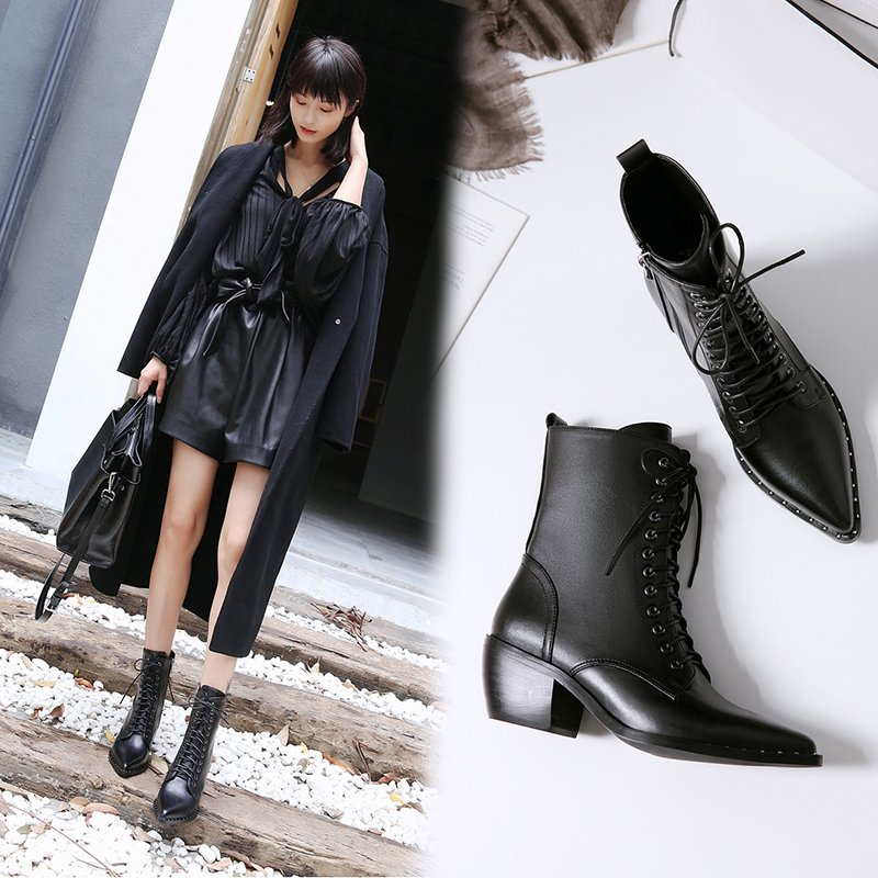Chiko Burne Combat Ankle Boots