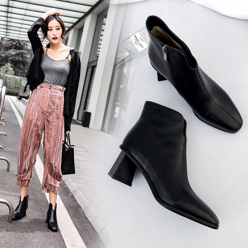 Chiko Burney Block Heel Ankle Boots