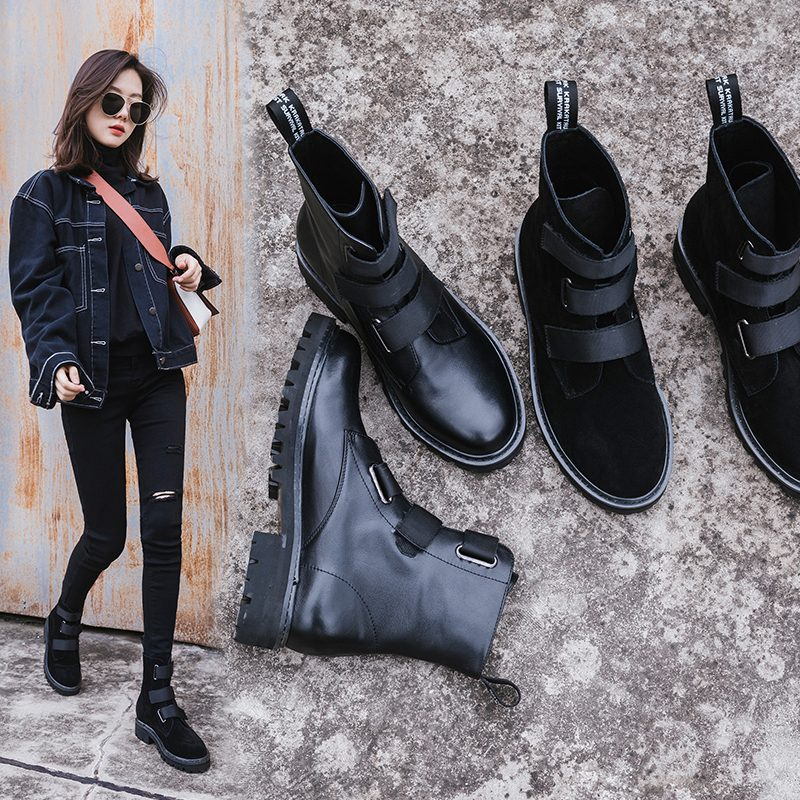 Chiko Caldwell Strap Ankle Boots