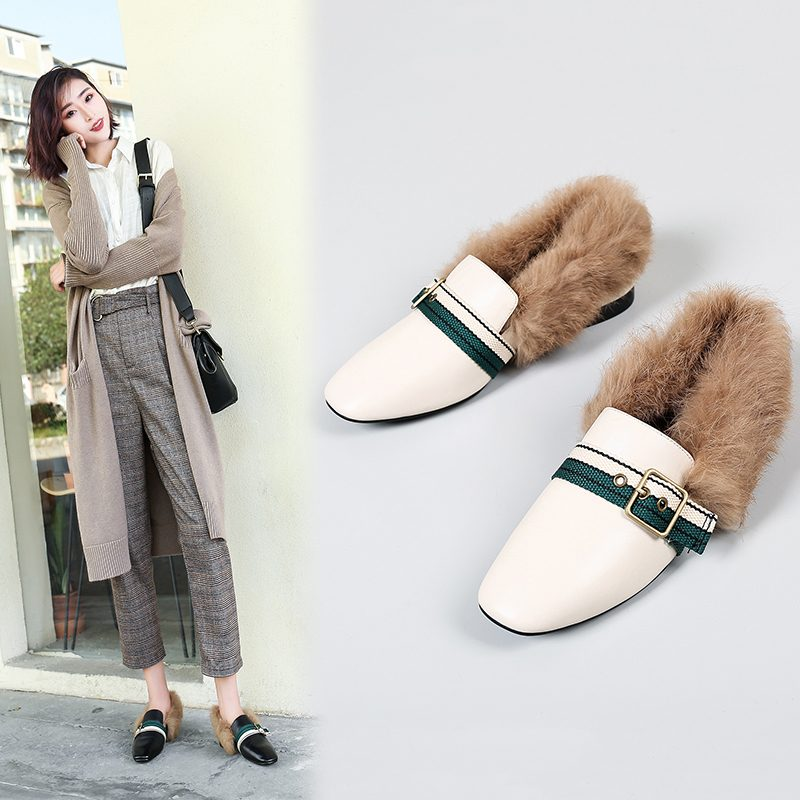 Chiko Calvert Fur Lined Loafers