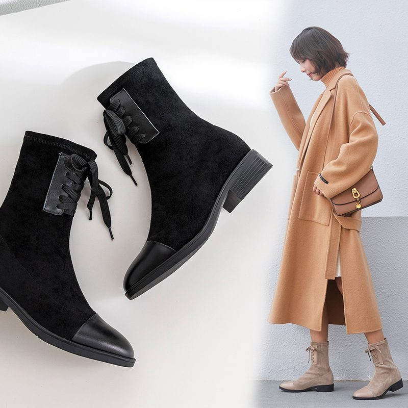 Chiko Carlisle Lace Up Ankle Boots