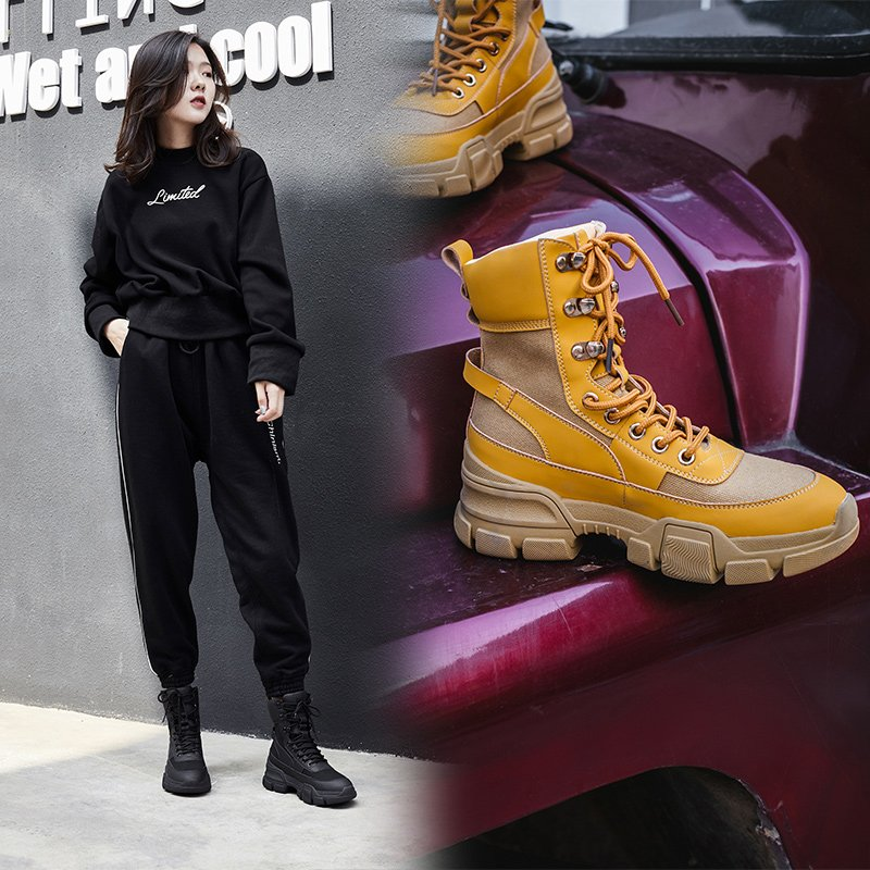 CARLY HIKING ANKLE BOOTS