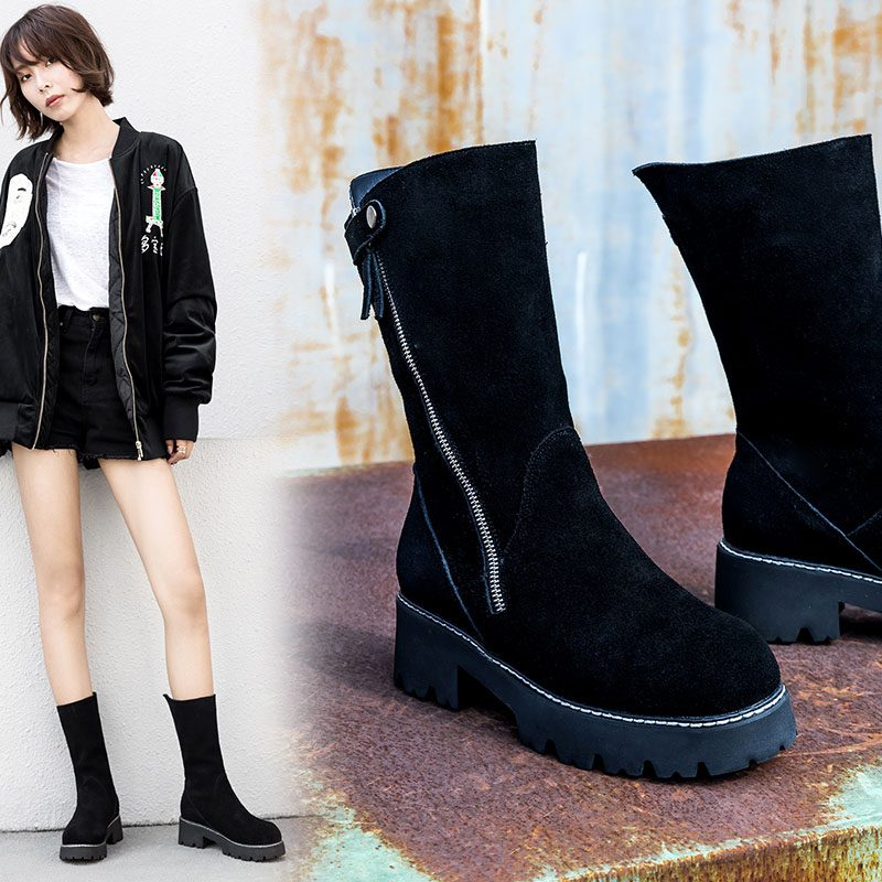 Chiko Cartland Side Zipper Ankle Boots