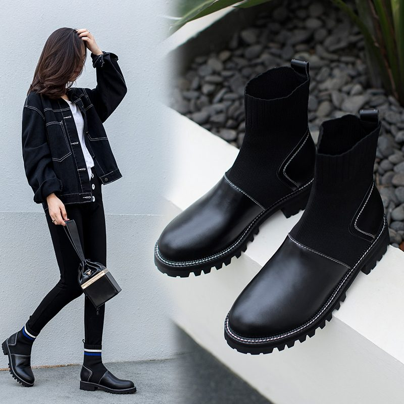Chiko Cawley Sock Ankle Boots