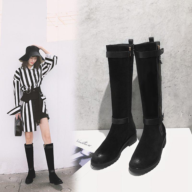 Chiko Cedrick Zipper Knee High Boots