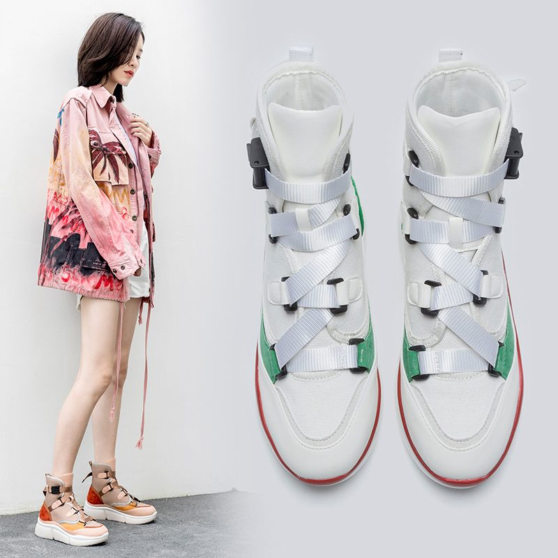 Chiko Chancelor Flatform Sneaker Ankle Boots