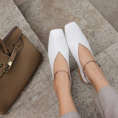Chiko Charlene Ankle Cuff Flats Glove Shoe