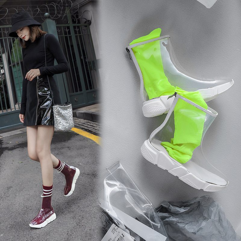 Chiko Chayla PVC Ankle Boots