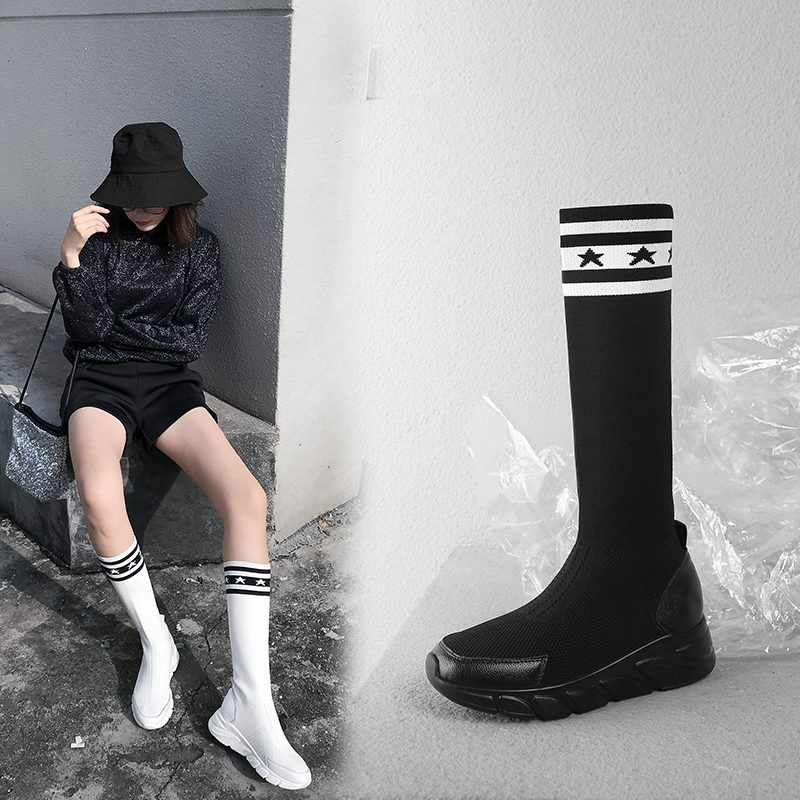 Chiko Chelcie Sneaker Sock Ankle Boots