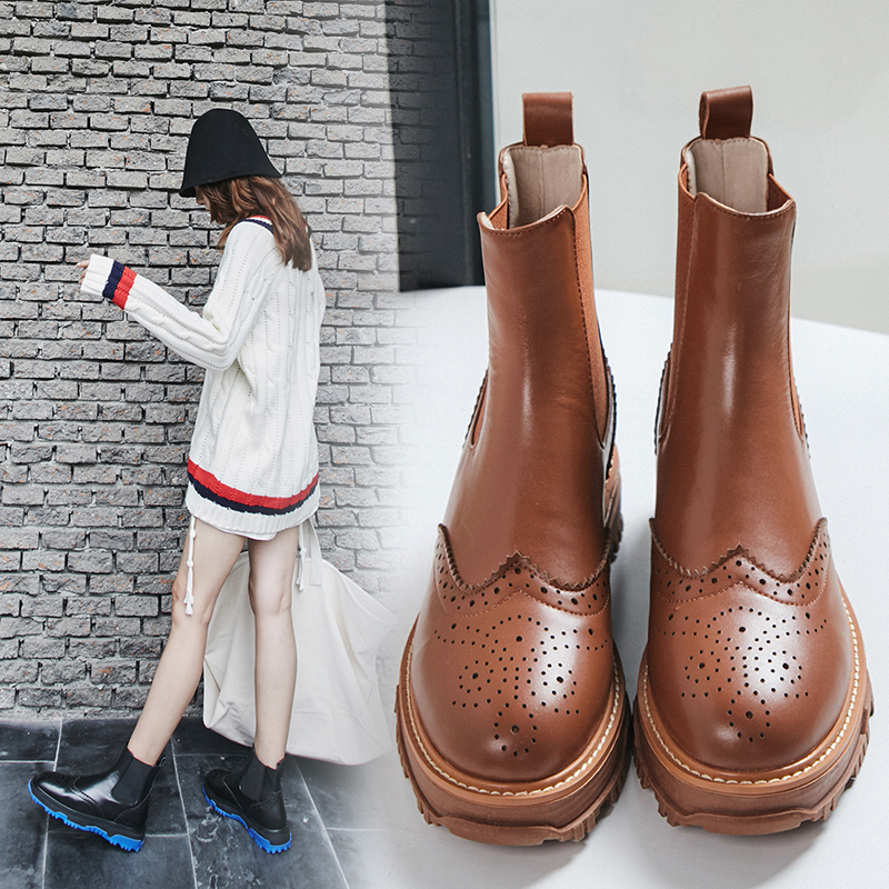 CHIP COLOR SOLE CHELSEA BOOTS | Chiko Shoes