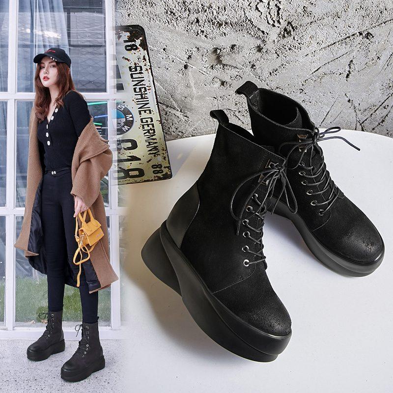 Chiko Chrissie Flatform Combat Boots