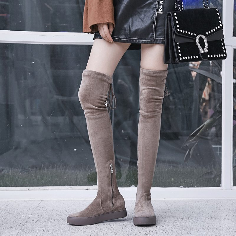 Chiko Chrys Thigh High Sneaker Boots