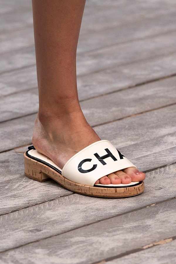 Chanel Shoes Spring 2019 Confirm Pvc Trend Is Here To Stay