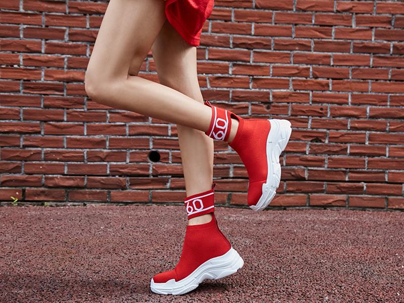 sneaker boots trend