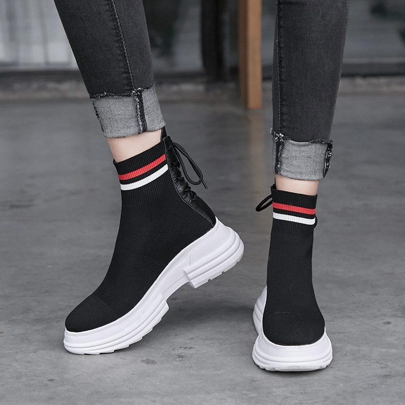 Chiko Colbert Flatform Sneaker Sock Boots