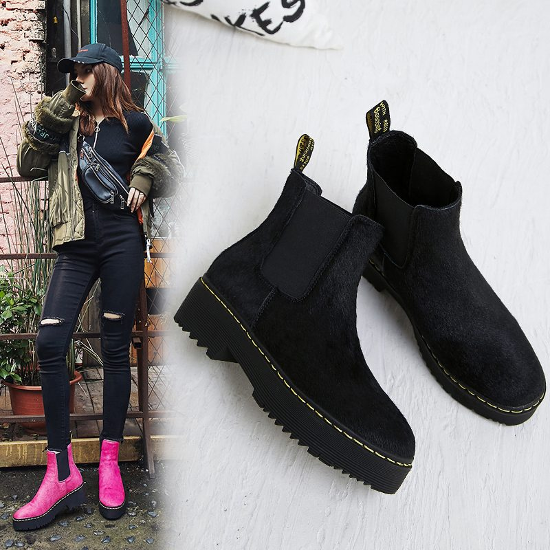 Chiko Colbi Flatform Chelsea Ankle Boots