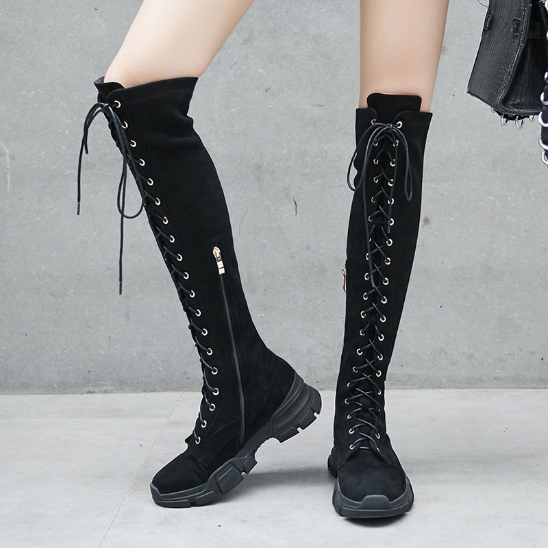 Chiko Courtlyn Knee High Sneaker Boots