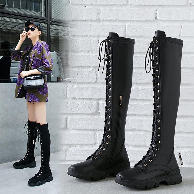 Chiko Courtlyn Knee High Sneaker Boots
