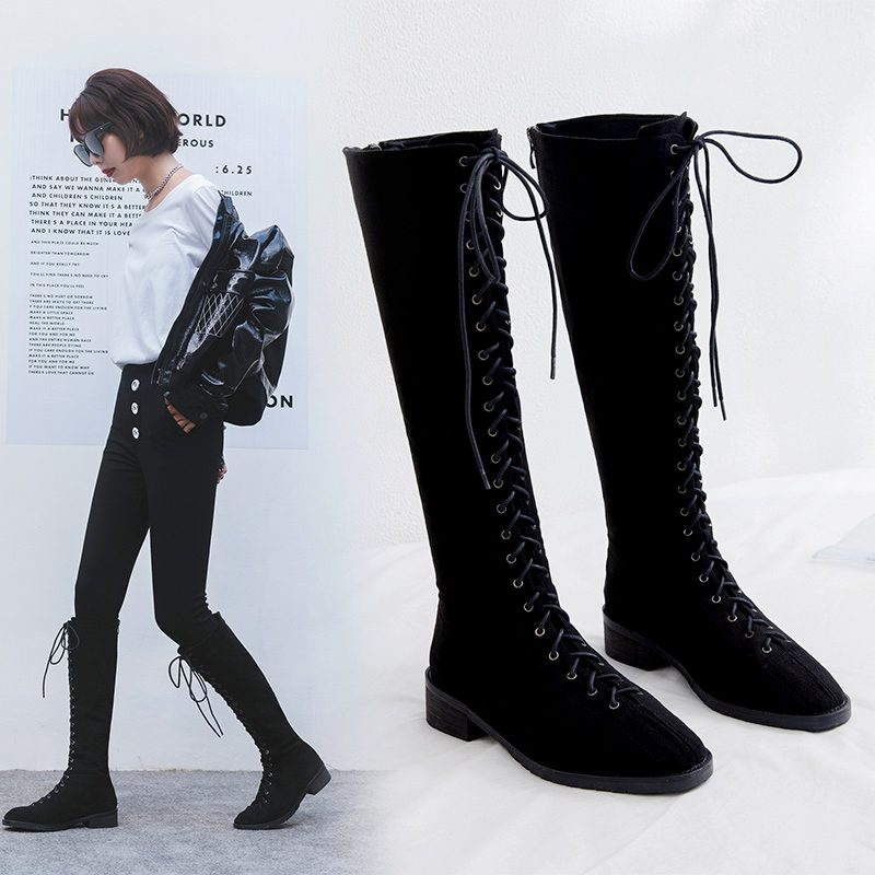 Chiko Courtnei Knee High Combat Boots