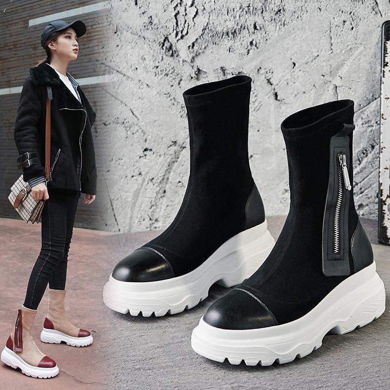 Chiko Dallon Sneaker Sock Boots