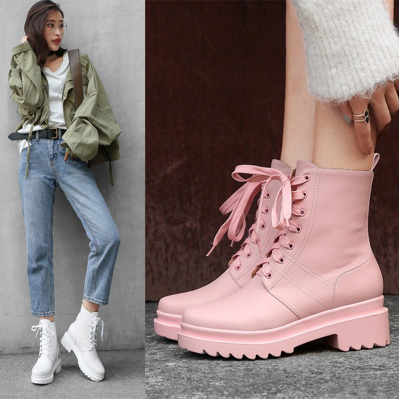 Chiko Dane Combat Ankle Boots