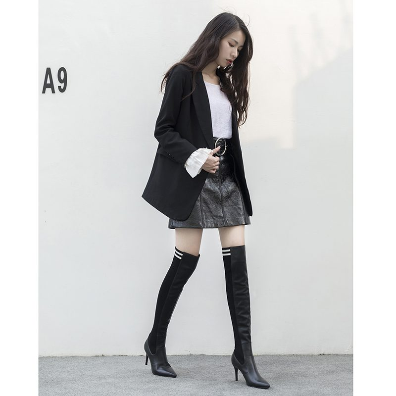 Chiko Dax Above Knee Sock Boots