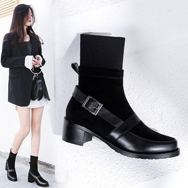 Chiko Dayla Sock Ankle Boots