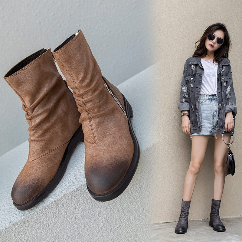 Chiko Daysi Zipper Ankle Boots