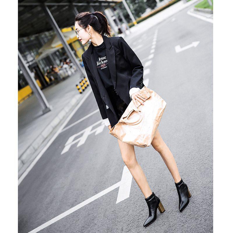 Chiko Dawna Chunky Heel Ankle Boots