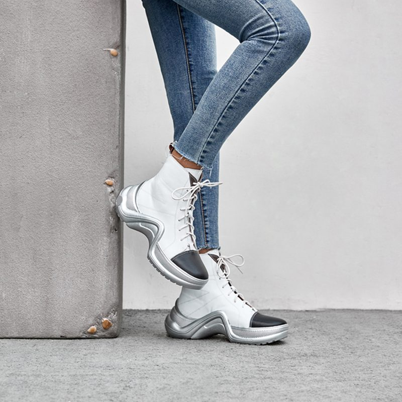 Chiko Dawson Cap Toe Sneaker Ankle Boots