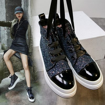 Chiko Deems Flatform Ankle Boots