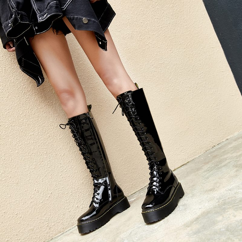 Chiko Delisa Flatform Knee High Boots