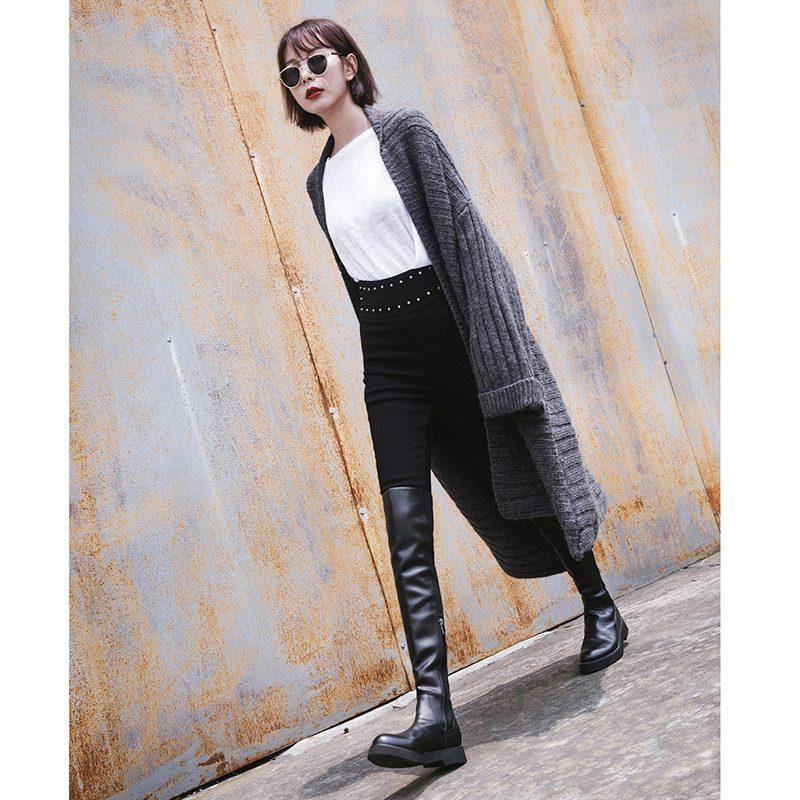 Chiko Della Thigh High Boots