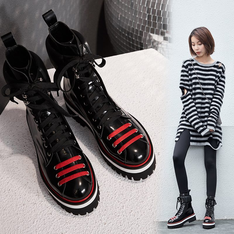 Chiko Deondra Combat Ankle Boots