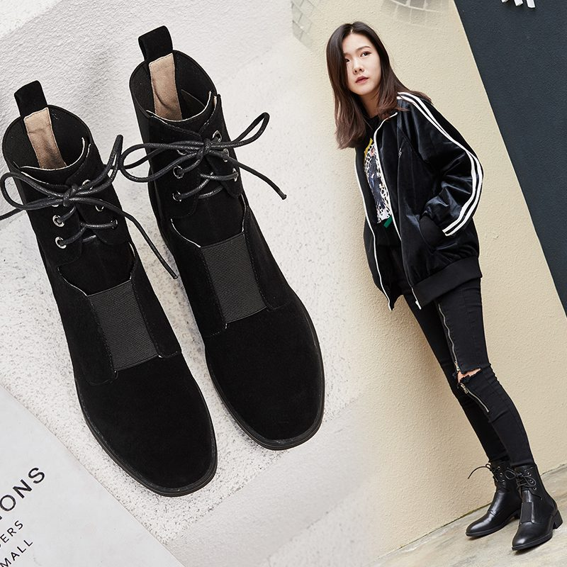 Chiko Deonna Lace Up Ankle Boots