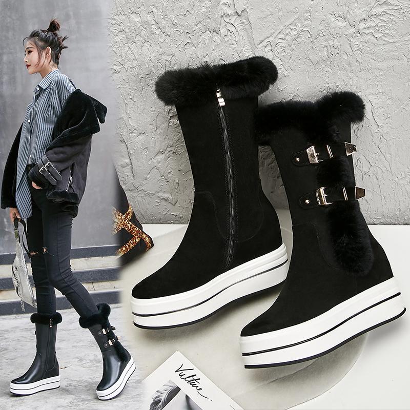 Doane Flatform Ankle boots