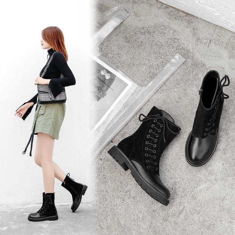 Chiko Domino Combat Ankle Boots